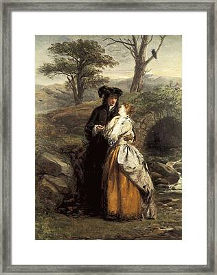 Frith, William Powell 1819-1909. The Framed Print by Everett