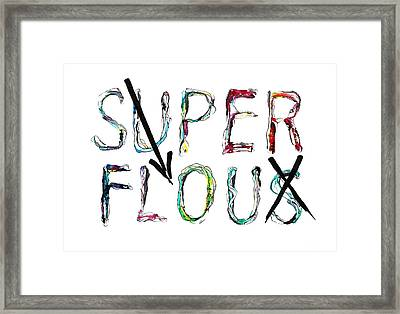 Frivolous Forcefield Framed Print