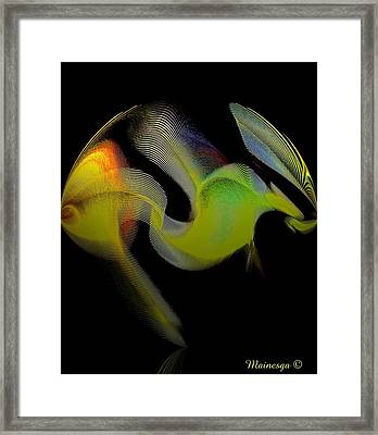 Frog Framed Print by Ines Garay-Colomba