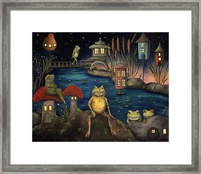 Frogland Framed Print