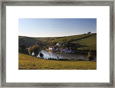 Frogmore Creek Devon Framed Print by Ollie Taylor