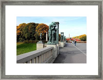 Frogner Park Framed Print