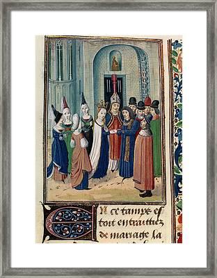 Froissart's Chronicles Framed Print