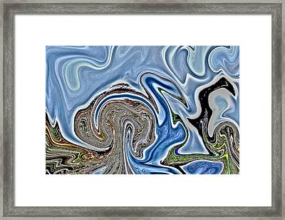 Framed Print featuring the photograph Frolic by Nick David