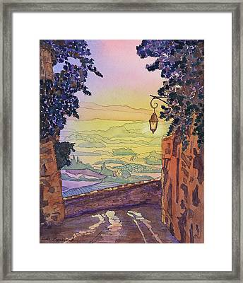 From A Distance Framed Print