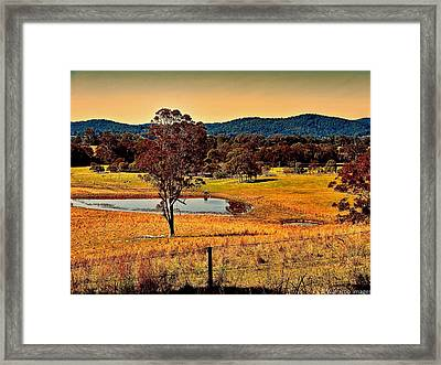 From A Distance Framed Print by Wallaroo Images