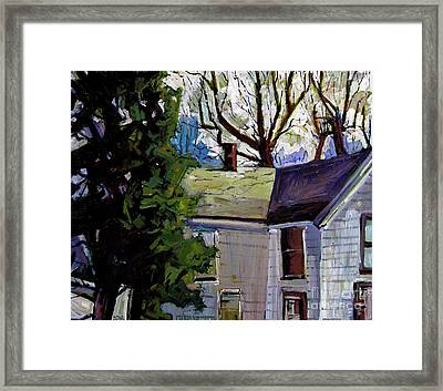From A Window  Framed Print by Charlie Spear