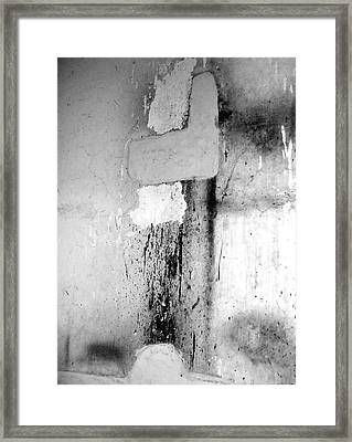 Framed Print featuring the photograph From Abandoned Factory by Mary Sullivan
