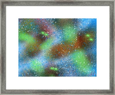 From Above Framed Print by Bill Minkowitz