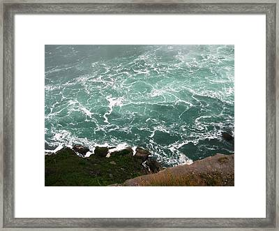 From Above Framed Print by Dervent Wiltshire