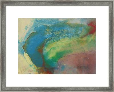 From Above Framed Print by Diane Peters