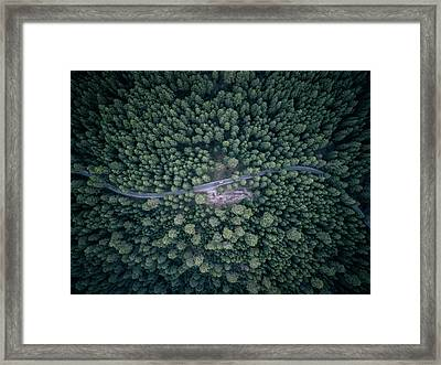 From Above IIi Framed Print