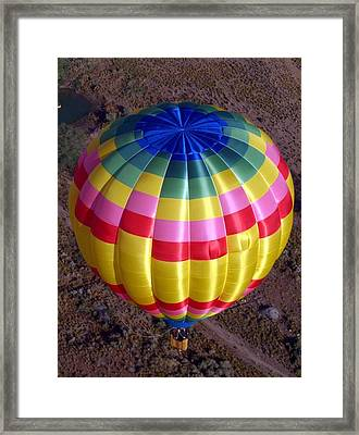 From Above Framed Print by Mary Rogers