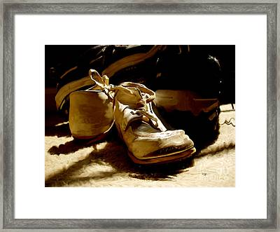 From Baby To Man In The Blink Of An Eye Framed Print by Lois Bryan