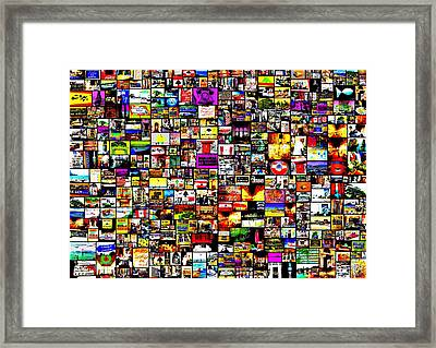 From Beirut With Love  Framed Print by Funkpix Photo Hunter