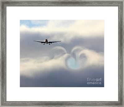 From Boeing With Love Framed Print