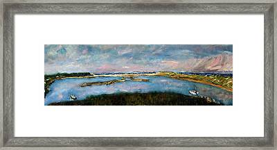 From Coast Guard Beach To Nauset Beach Framed Print