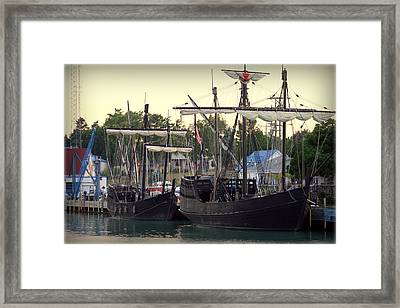 From Days Gone By Framed Print by Kay Novy