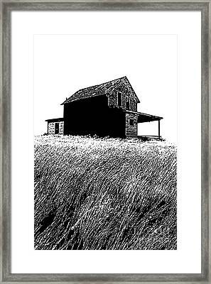Framed Print featuring the photograph From Days Gone By by Vivian Christopher