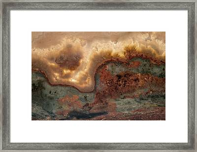 From Fire And Stone Framed Print by Leland D Howard
