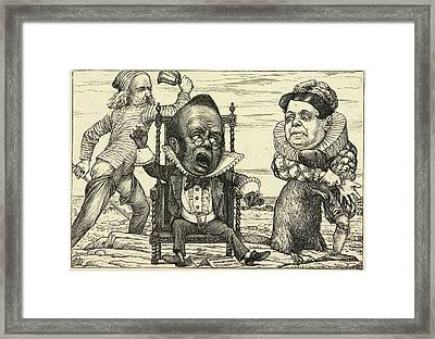 From Fit The Seventh: The Banker's Fate Framed Print by British Library