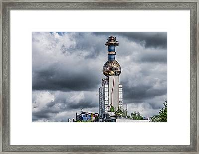 From Garbarge To Energy Framed Print