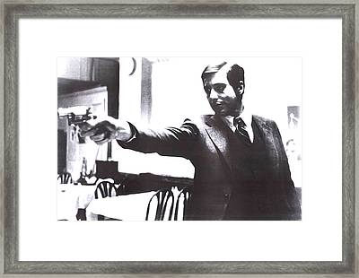 From Godfather Framed Print by Guido Prussia