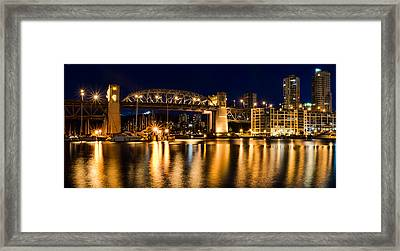 From Granville Island Framed Print