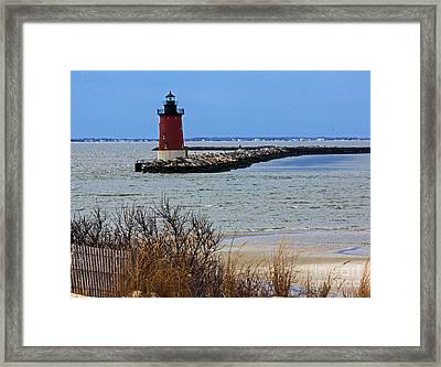 From Henlopen Point 2 Framed Print