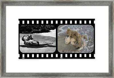 From Here To Eternity Film Strip Framed Print by William Patrick