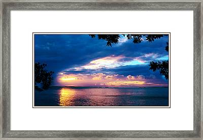 From Here To Heaven Framed Print by Earl Devendorf