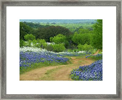 From Here To There Framed Print by Joe Jake Pratt