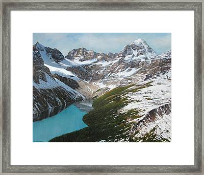 From High Above Framed Print