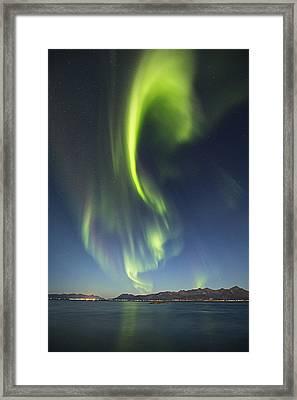 From Horizon To Zenith  Framed Print by Frank Olsen