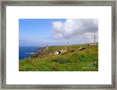 From Levant To Pendeen Cornwall Framed Print by Terri Waters