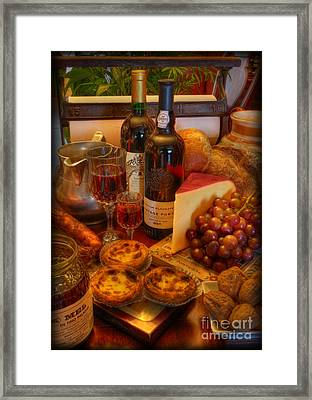 From Lisbon With Love Framed Print