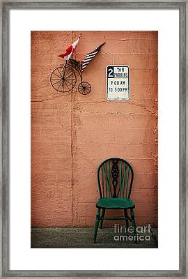 From Nine To Five Framed Print by Elena Nosyreva