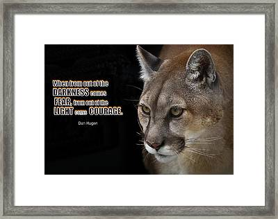 From Out Of The Darkness - #2 Framed Print