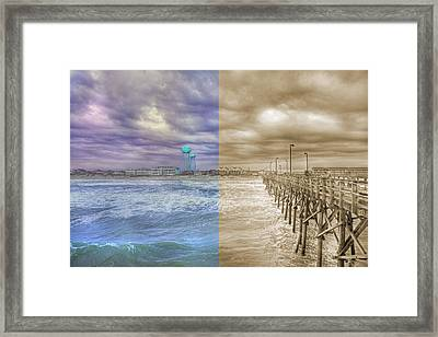 From Past To Present Framed Print by Betsy Knapp