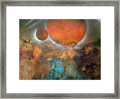 From Planet's View Framed Print