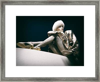 From Russia With Love Framed Print by Daniel Hagerman