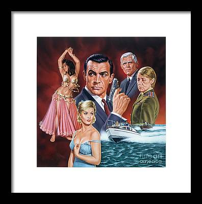 From Russia With Love Framed Prints