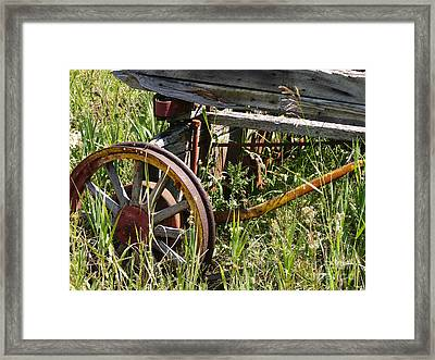 From Rust To Grass Framed Print