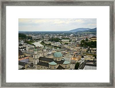 From Salzburg Castle Framed Print by Marty  Cobcroft