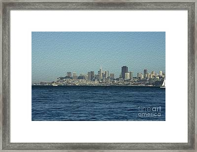 From Sausalito Framed Print by David Bearden