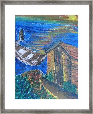 From Sea To Sun Framed Print by Debbie Nester