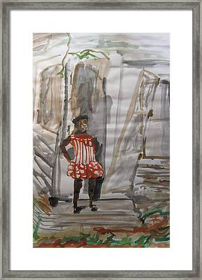 From Slavery To Penury Framed Print