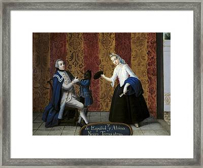 From Spanish And Albina Negro Torna Framed Print by Everett