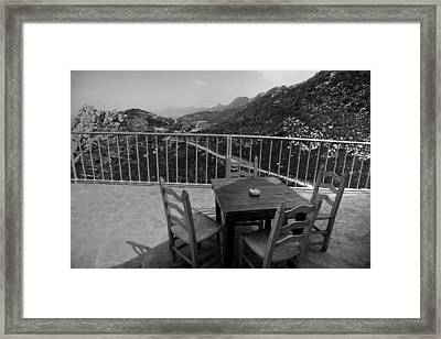 Framed Print featuring the photograph From St. Hillarion by Jim Vance