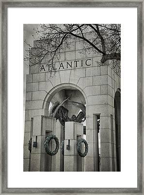 From The Atlantic Framed Print by Joan Carroll